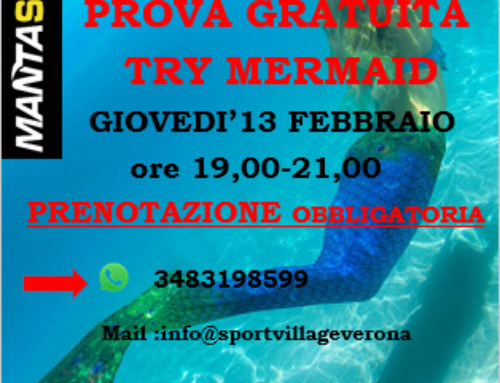 Prove Mermaid e Immersione